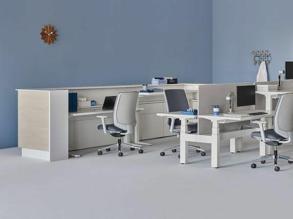 herman miller healthcare workstations individual workspace healthcare industry boston nyc manchester burlington portland