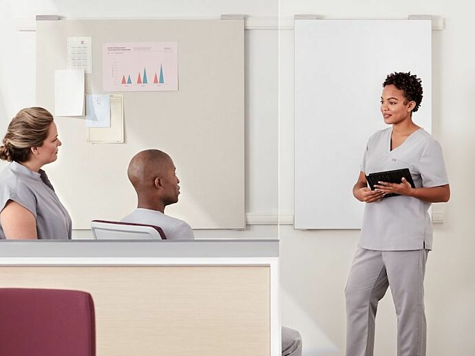 Herman Miller healthcare casegoods furniture for hospitals nyc manchester burlington providence portland boston
