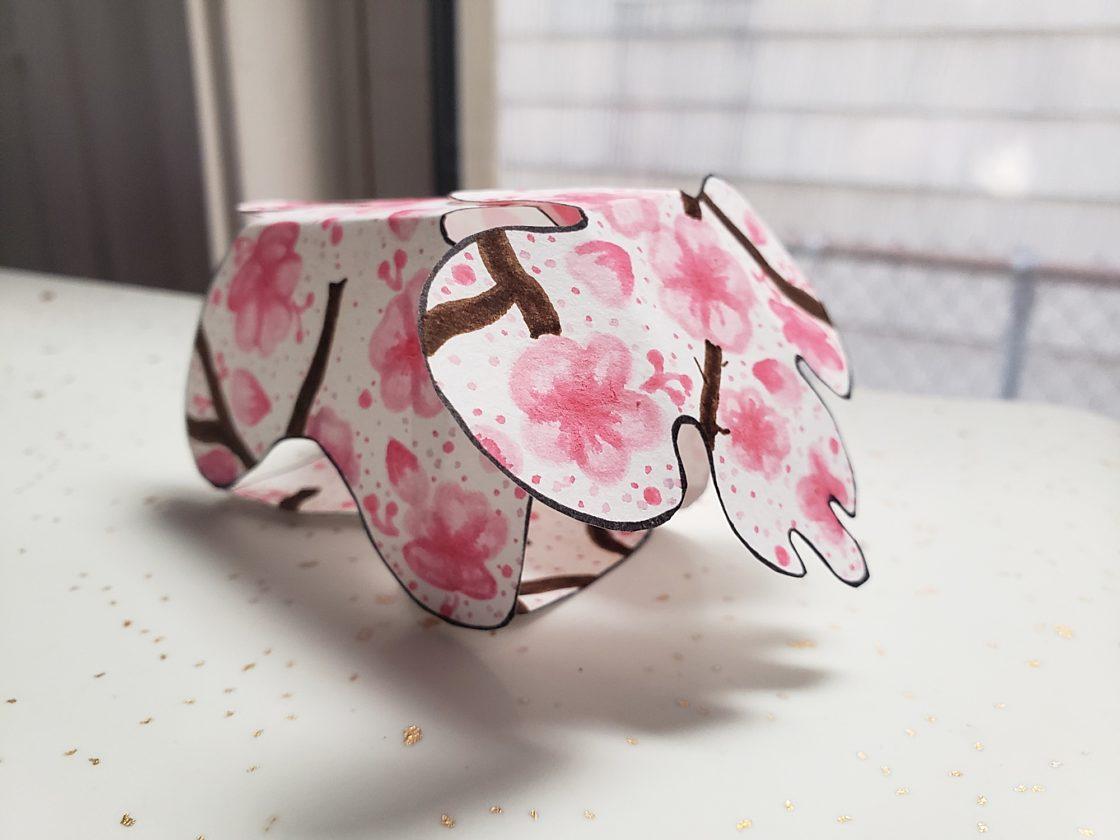 herman miller paper eames elephant