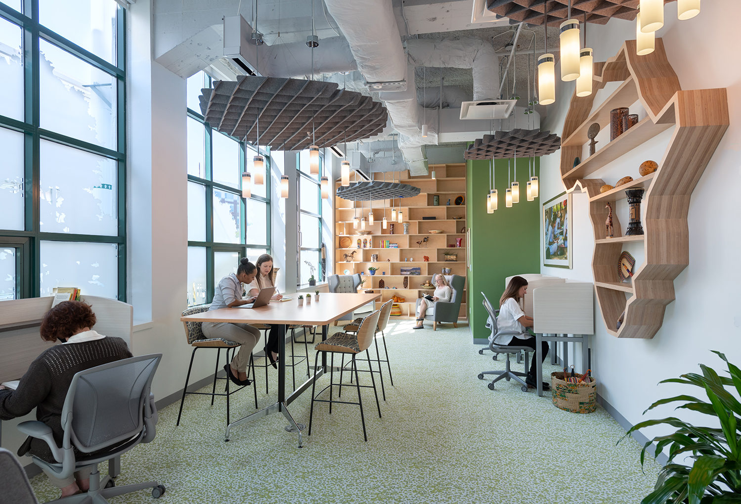 stool, private work space, creative office pavilion, who we are