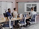 collaborative conference room office furniture ergonomic chairs