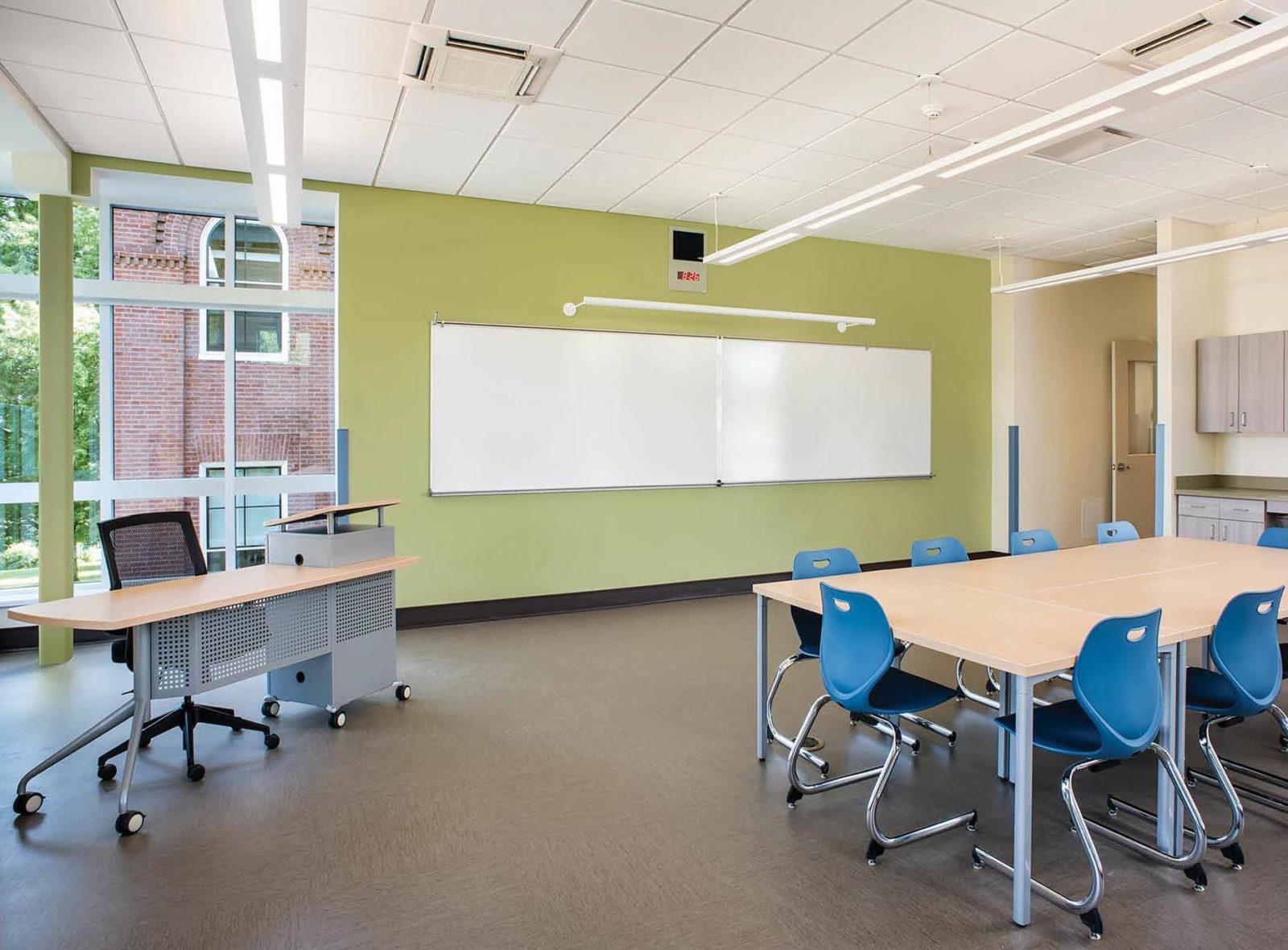 portland maine high school education classroom space k-12 furniture