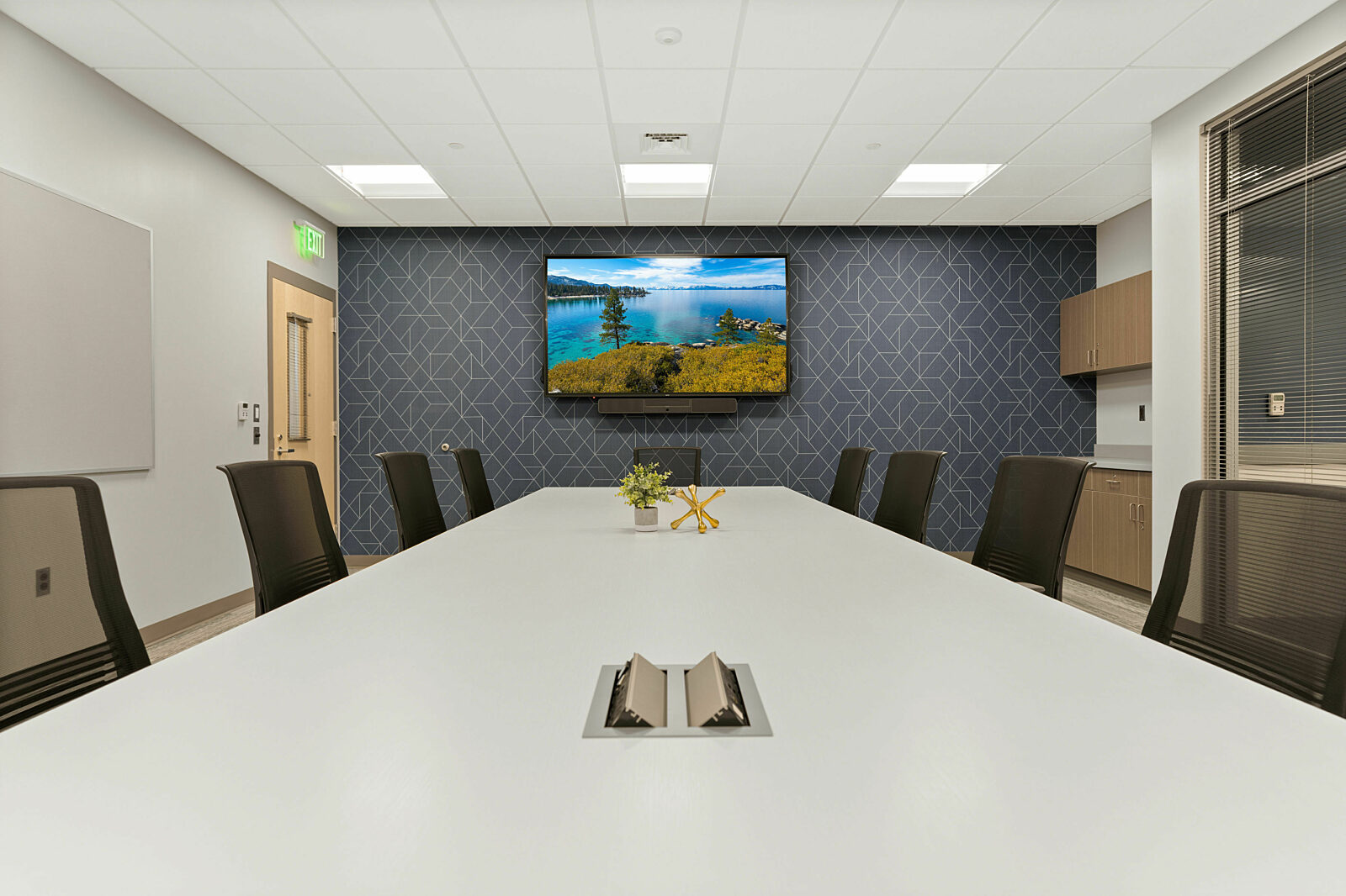 conference room, conference chairs, office